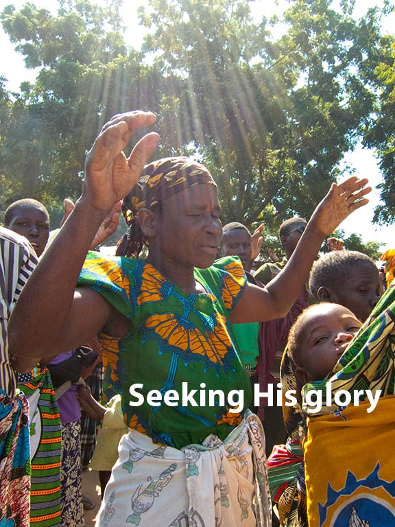 seeking his glory