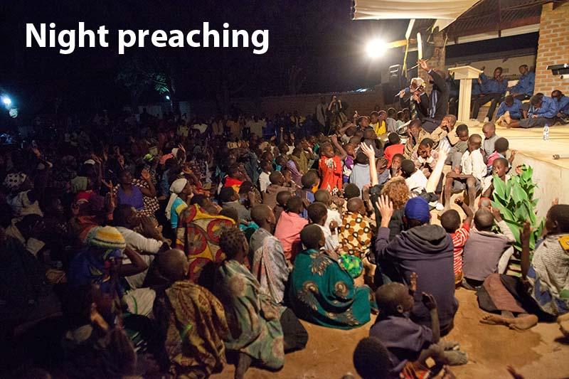 night preaching