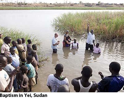 Yei baptism